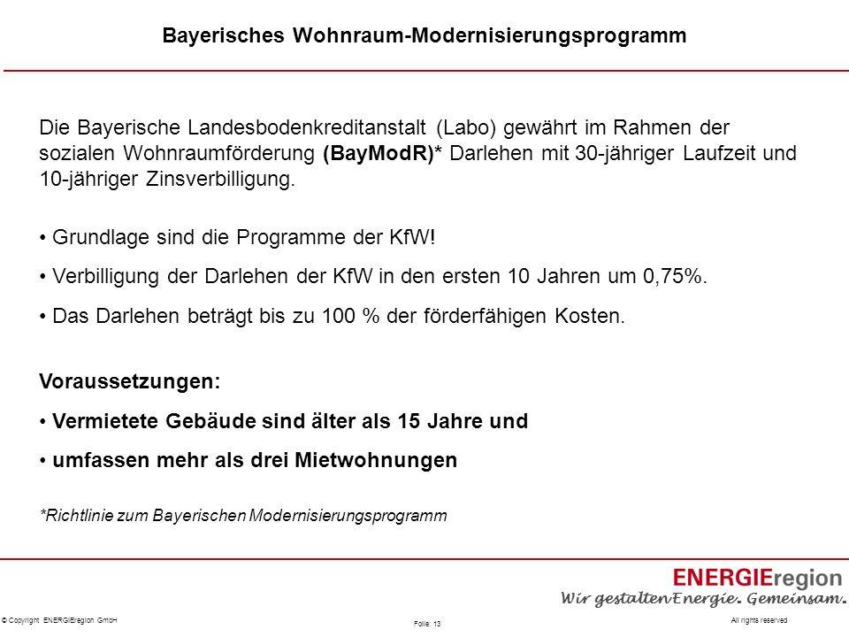 Bayerisches Wohnraum-Modernisierungsprogramm