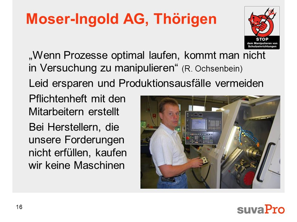 Moser-Ingold AG, Thörigen