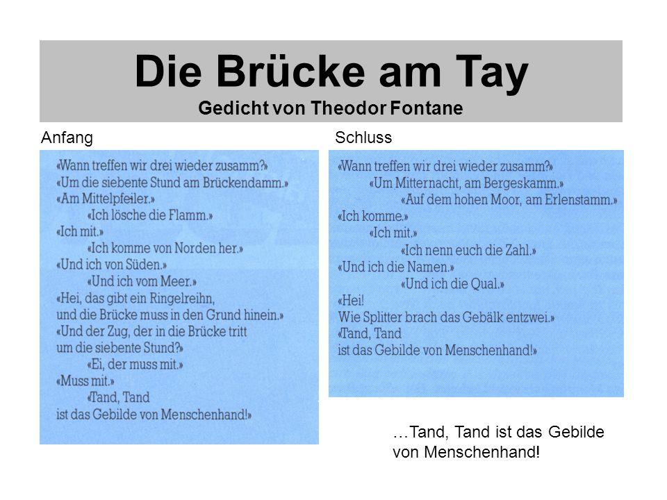 Gedicht von Theodor Fontane