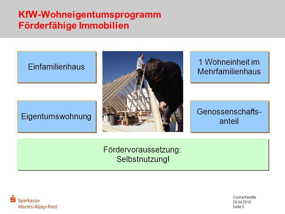 KfW-Wohneigentumsprogramm Förderfähige Immobilien