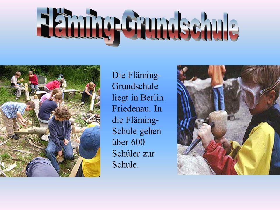 Fläming-Grundschule Die Fläming-Grundschule liegt in Berlin Friedenau.