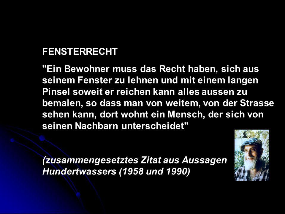 FENSTERRECHT