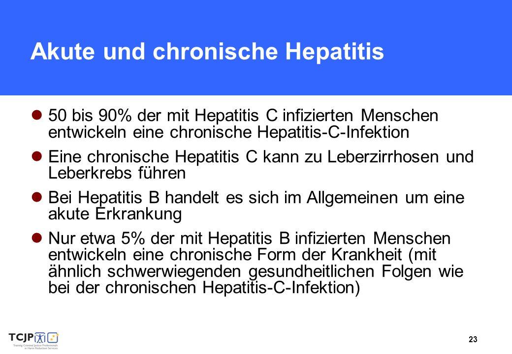 Akute und chronische Hepatitis