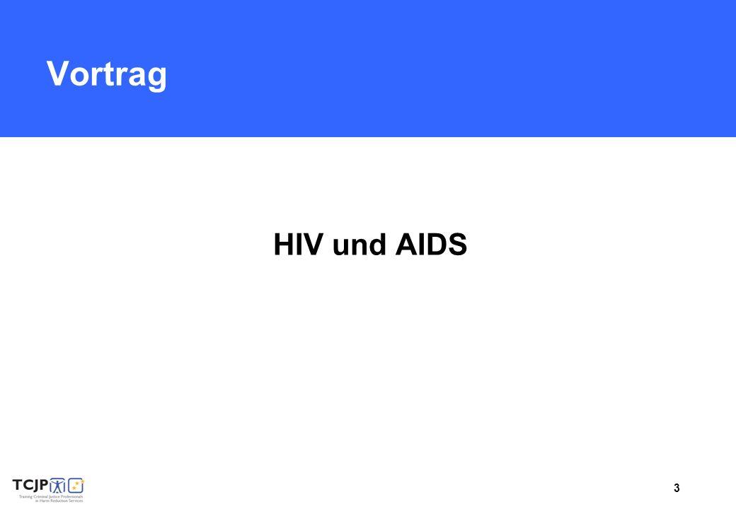Vortrag HIV und AIDS.