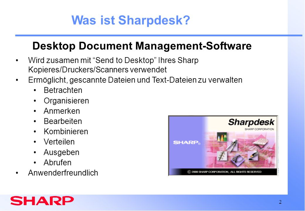 Desktop Document Management-Software