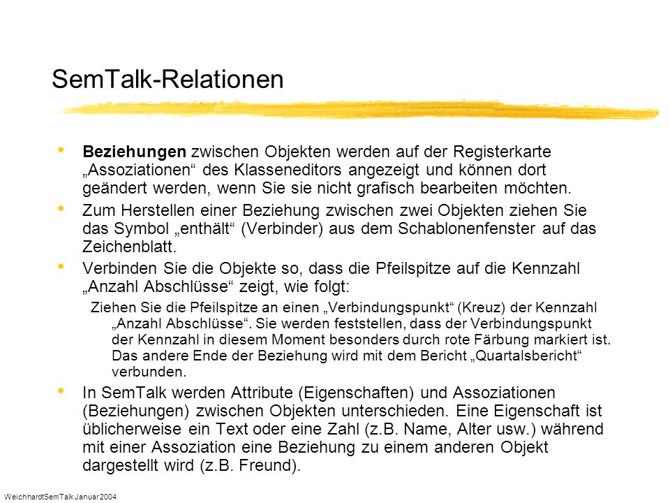 SemTalk-Relationen