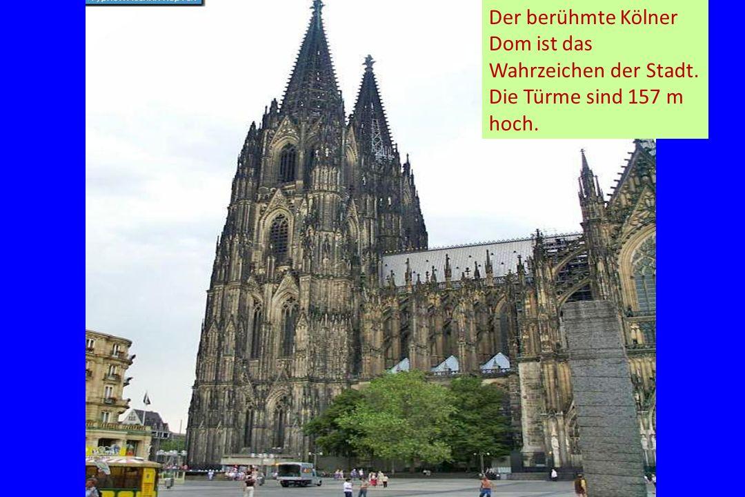 Der berühmte Kölner Dom ist das Wahrzeichen der Stadt