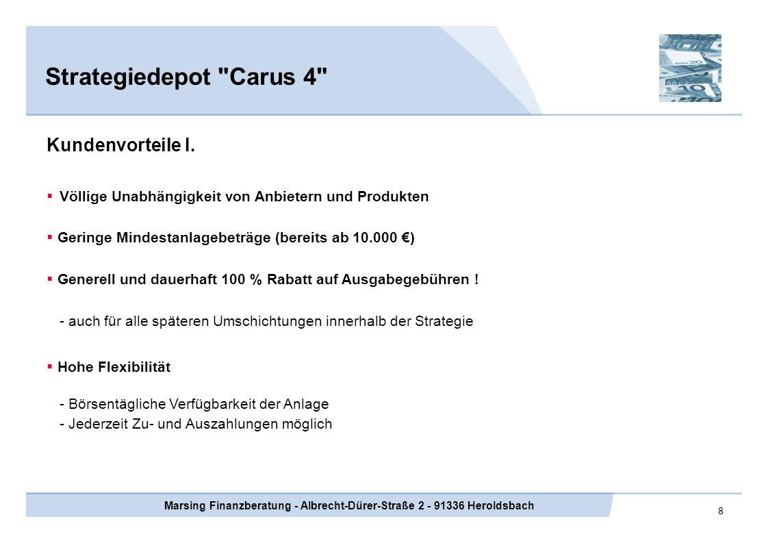 Marsing Finanzberatung - Albrecht-Dürer-Straße 2 - 91336 Heroldsbach