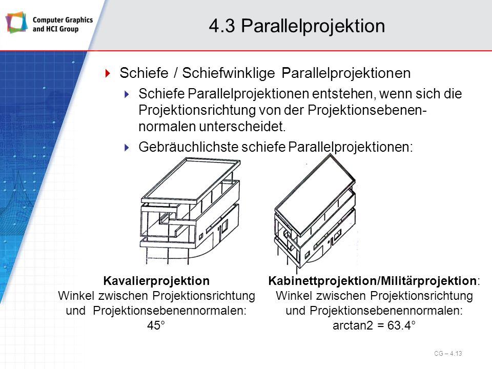 Kabinettprojektion/Militärprojektion: