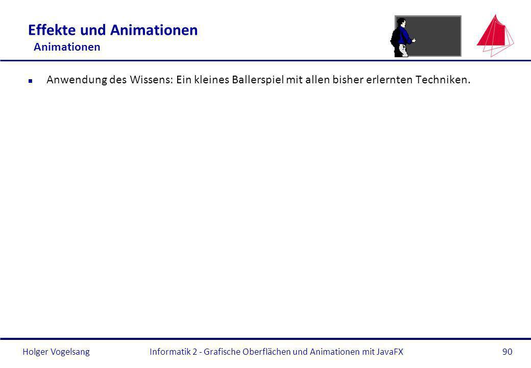 Effekte und Animationen Animationen