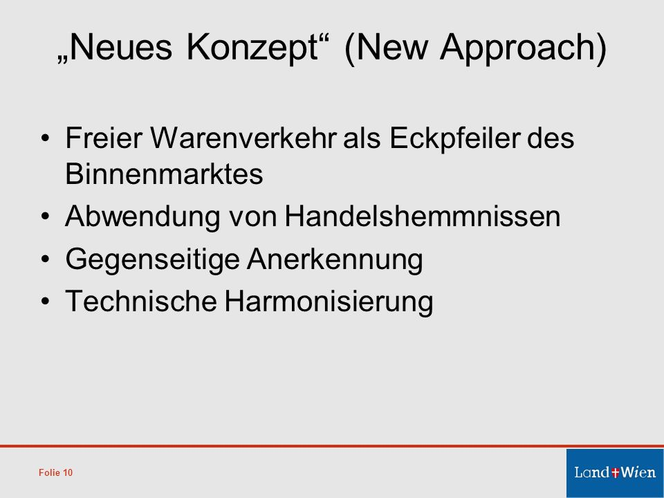 """Neues Konzept (New Approach)"