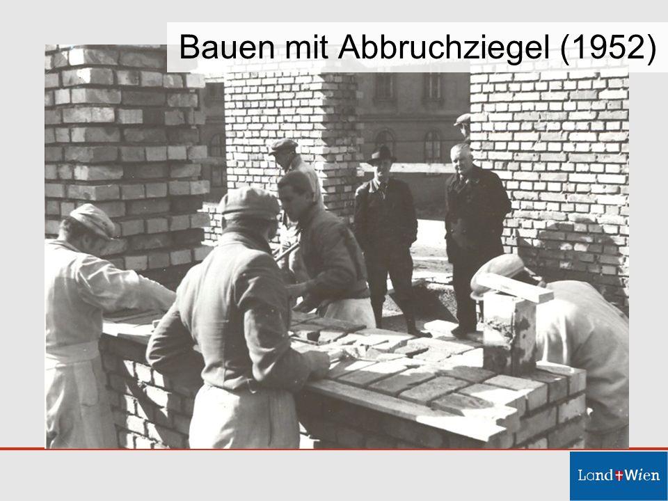 Bauen mit Abbruchziegel (1952)