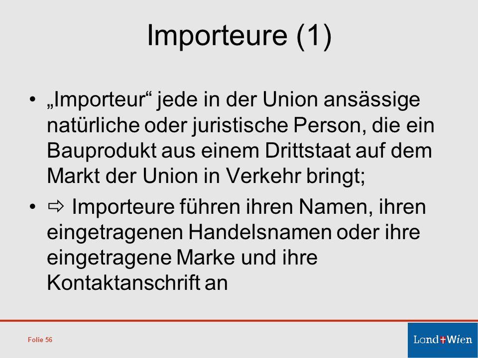 Importeure (1)