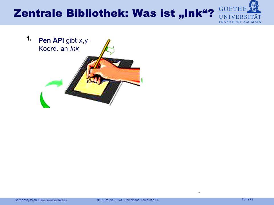 """Zentrale Bibliothek: Was ist """"Ink"""