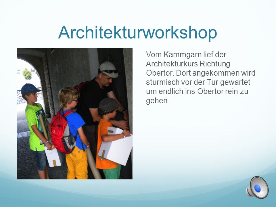 Architekturworkshop
