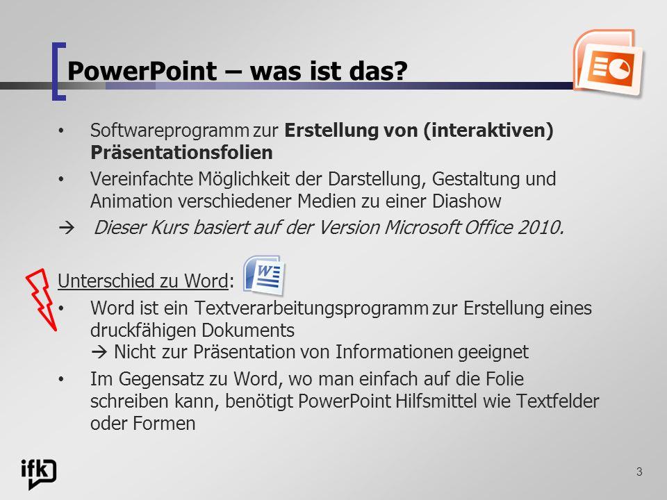 PowerPoint – was ist das