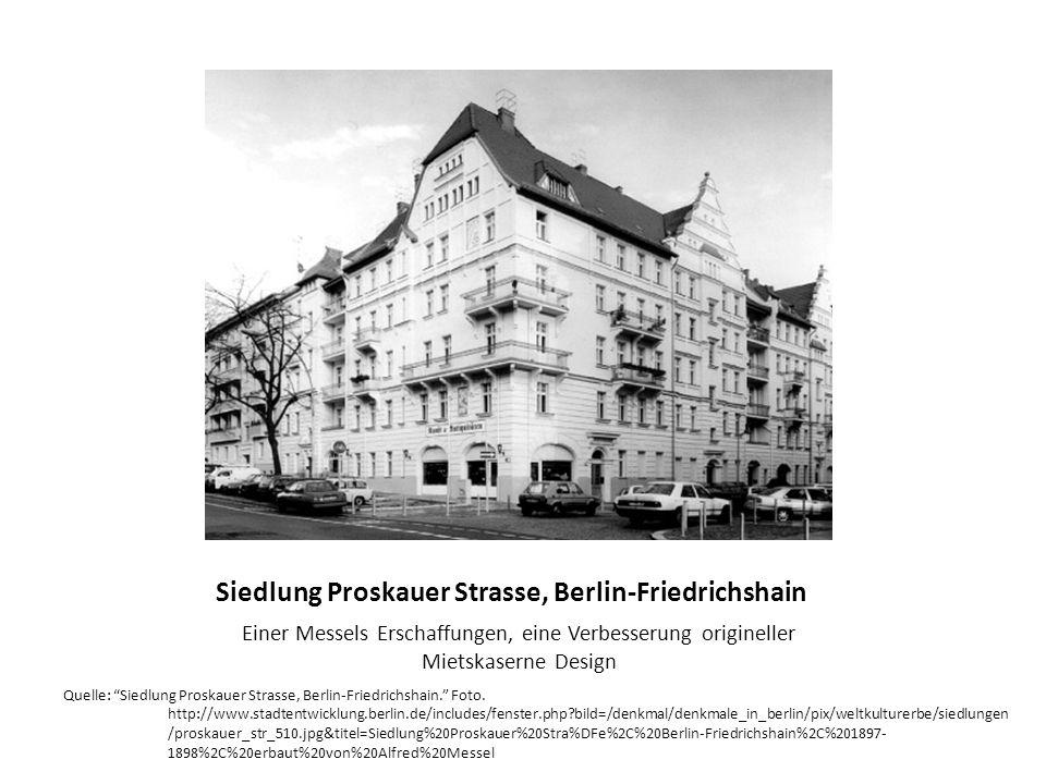 Siedlung Proskauer Strasse, Berlin-Friedrichshain