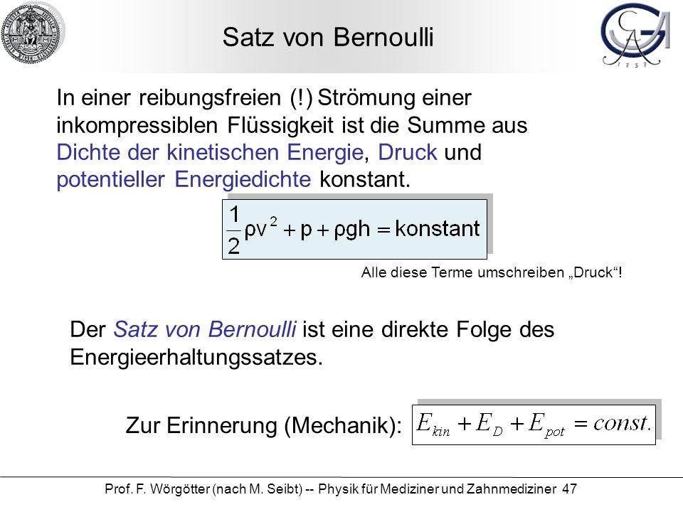 Satz von Bernoulli