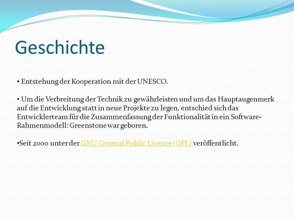 Geschichte Entstehung der Kooperation mit der UNESCO.