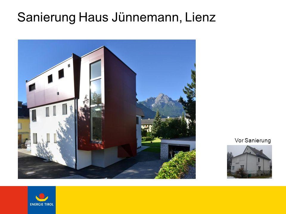 Sanierung Haus Jünnemann, Lienz