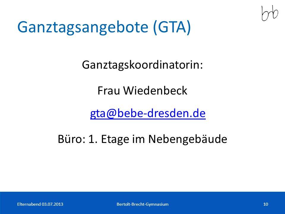 Ganztagsangebote (GTA)