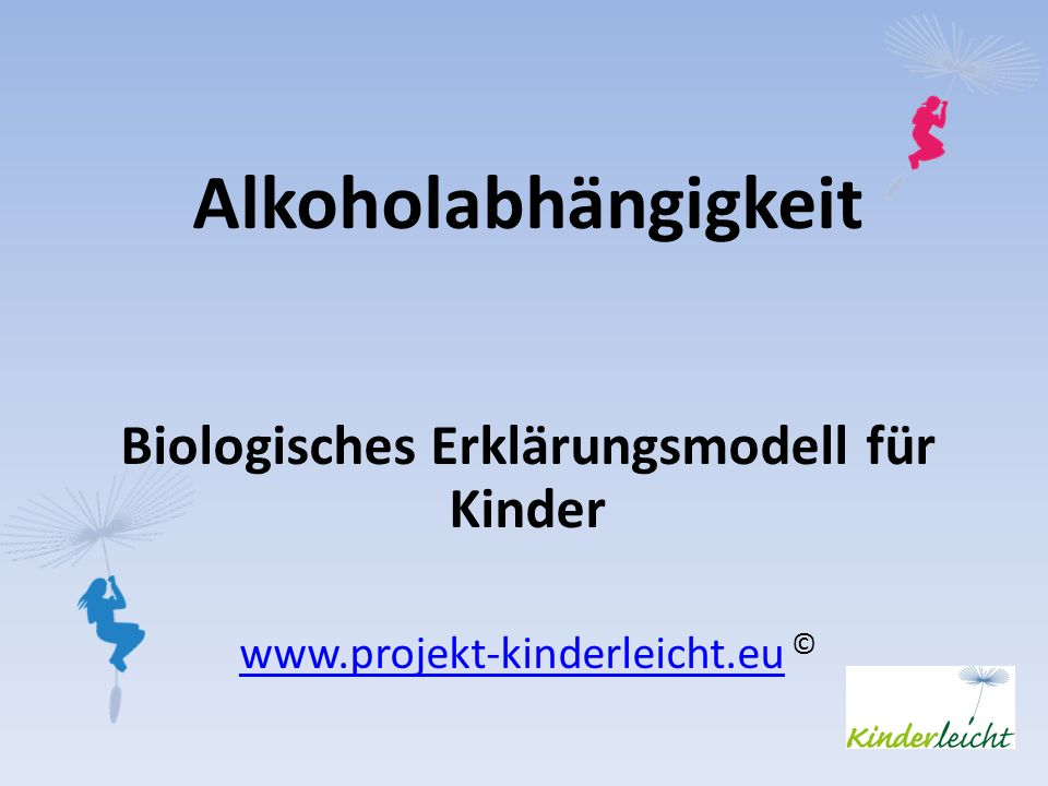 Biologisches Erklärungsmodell für Kinder