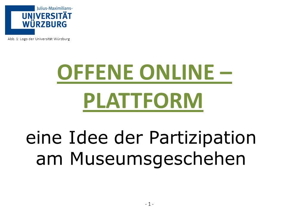 eine Idee der Partizipation am Museumsgeschehen