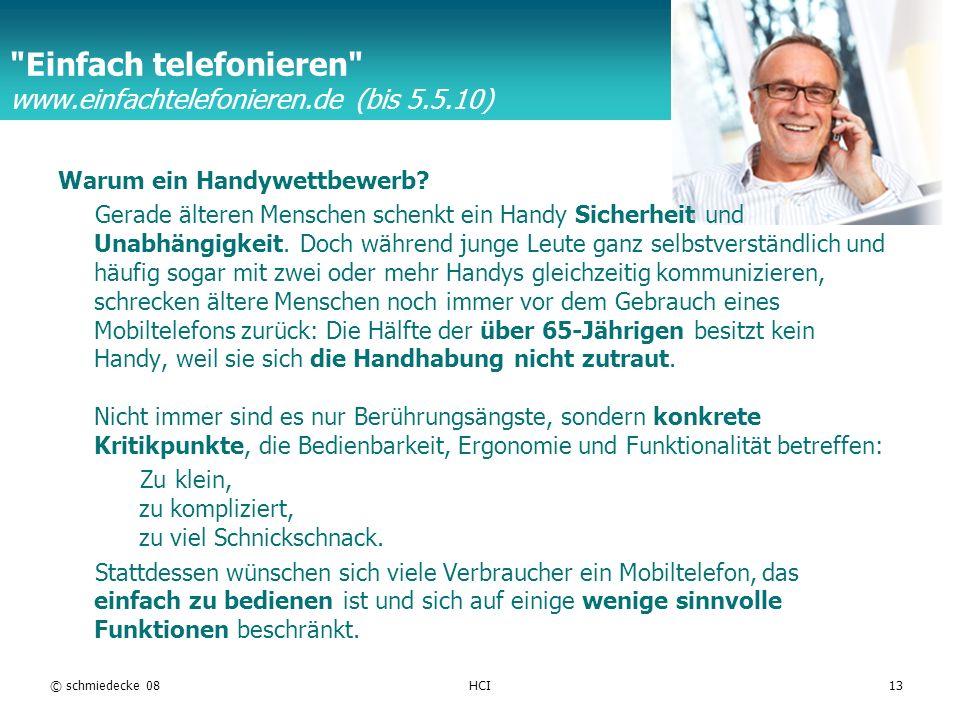 Einfach telefonieren www.einfachtelefonieren.de (bis 5.5.10)