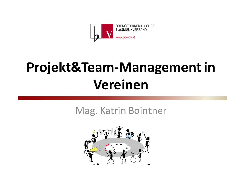 Projekt&Team-Management in Vereinen