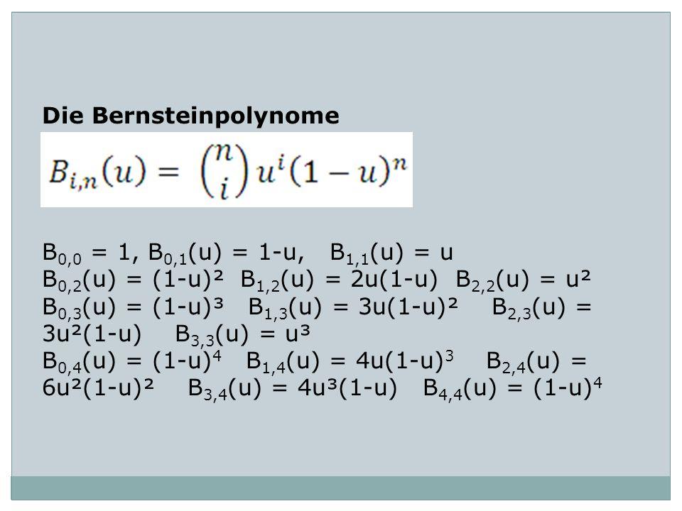 Die Bernsteinpolynome