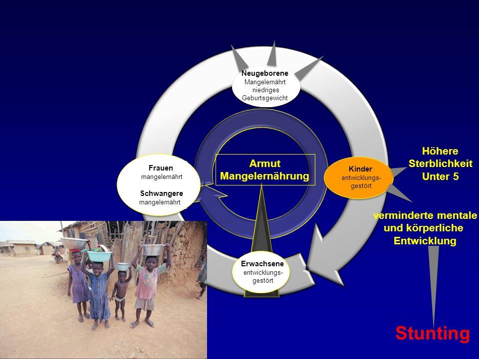 Stunting Höhere Sterblichkeit Armut Unter 5 Mangelernährung