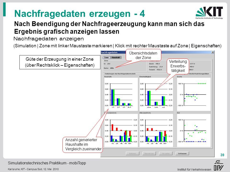 Nachfragedaten erzeugen - 4