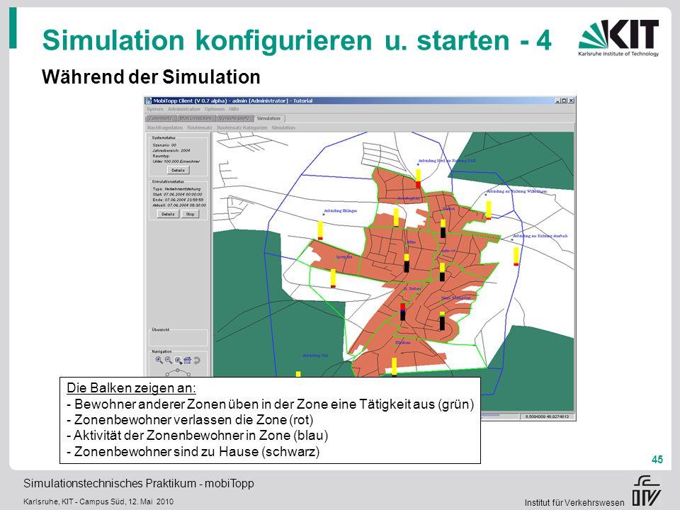 Simulation konfigurieren u. starten - 4