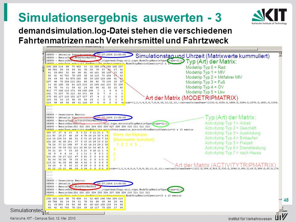 Simulationsergebnis auswerten - 3
