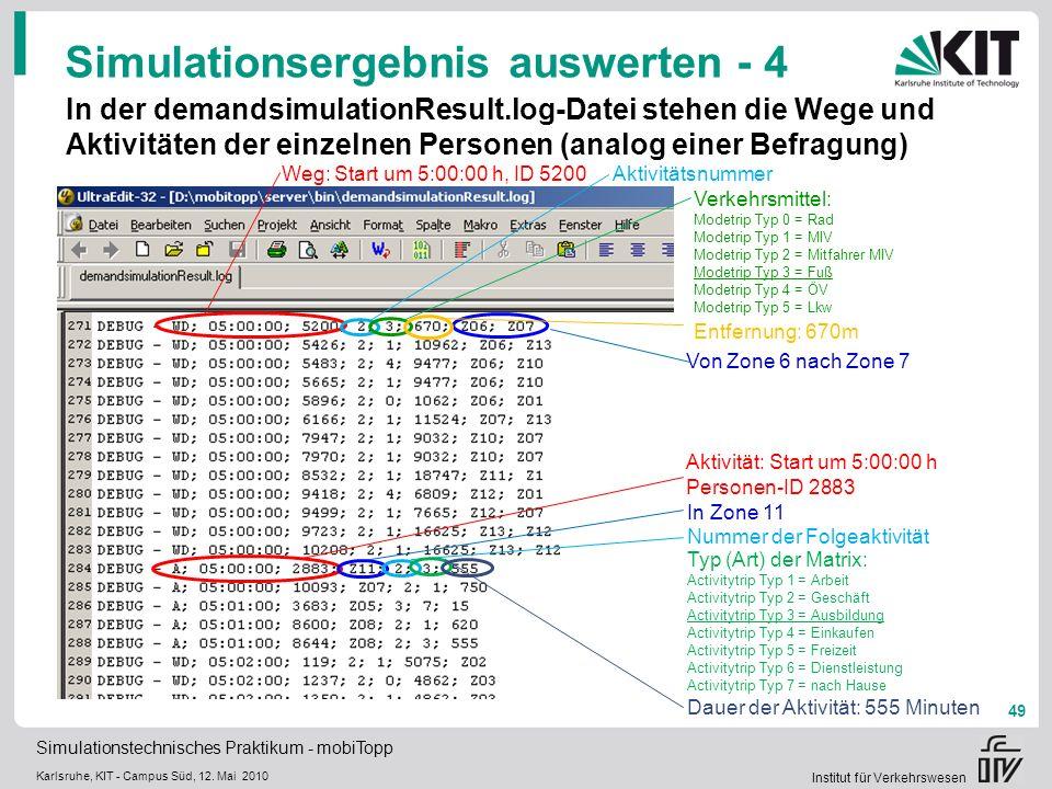 Simulationsergebnis auswerten - 4
