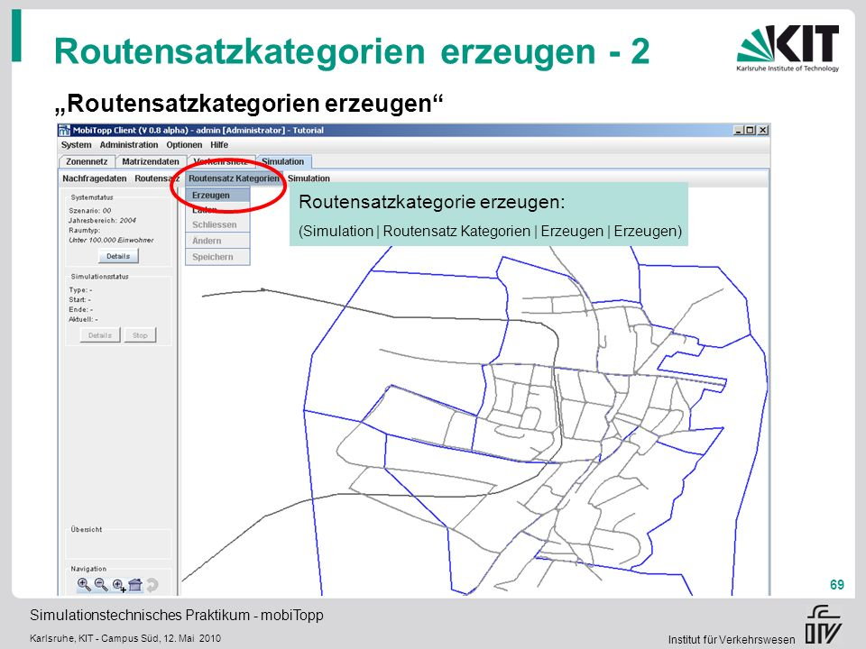 Routensatzkategorien erzeugen - 2