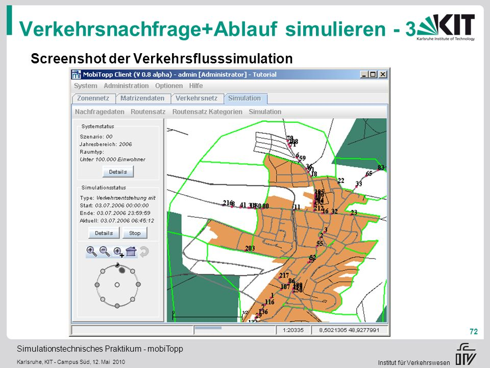 Verkehrsnachfrage+Ablauf simulieren - 3