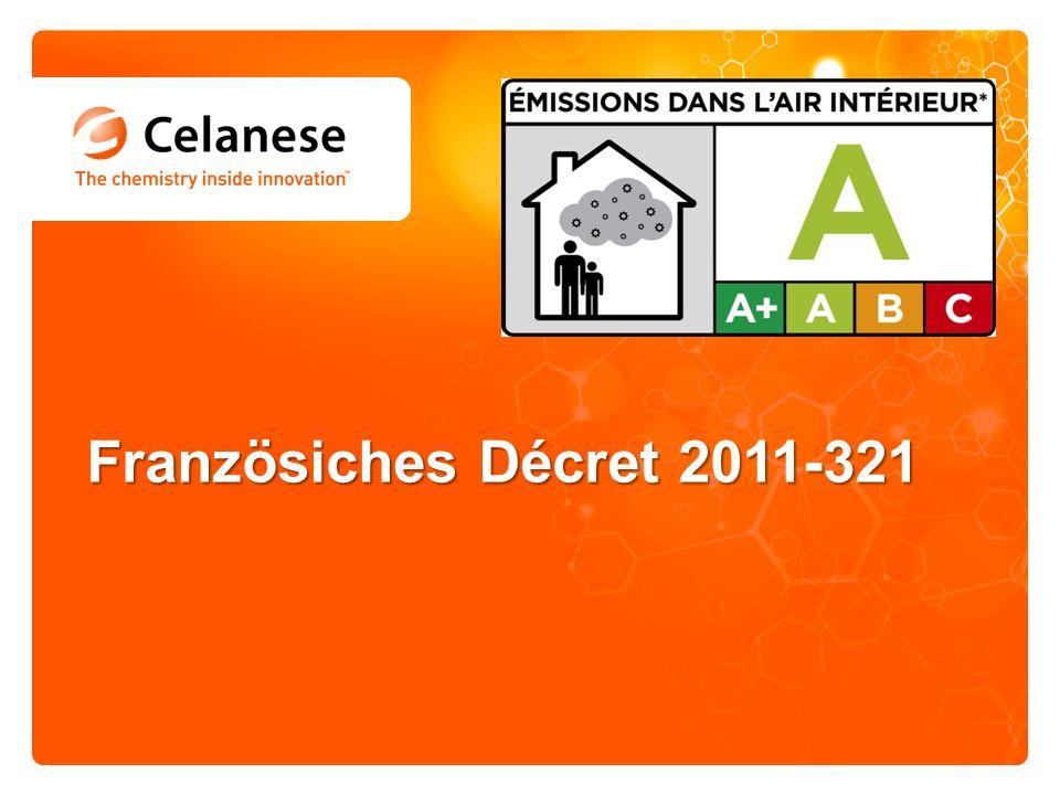 Französiches Décret 2011-321