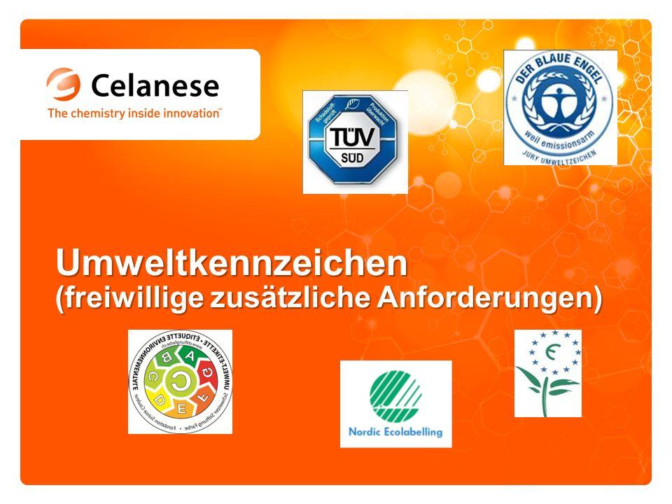 Umweltkennzeichen (freiwillige zusätzliche Anforderungen)