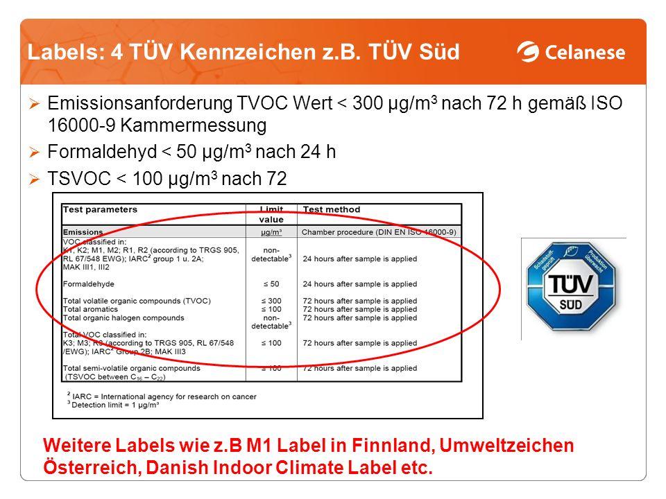 Labels: 4 TÜV Kennzeichen z.B. TÜV Süd