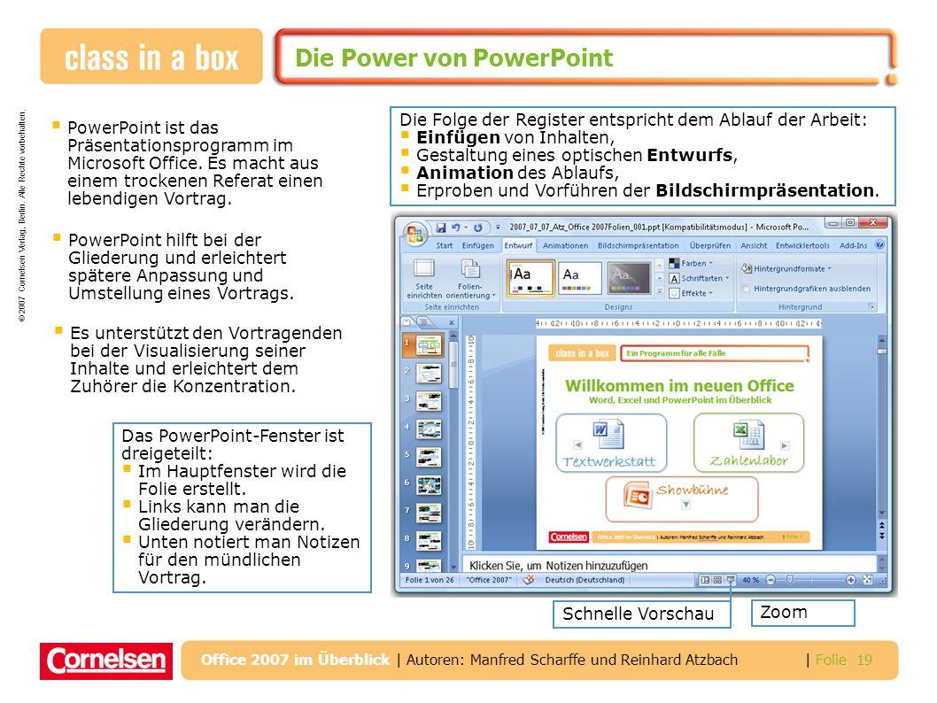 Die Power von PowerPoint