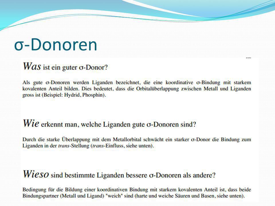 σ-Donoren