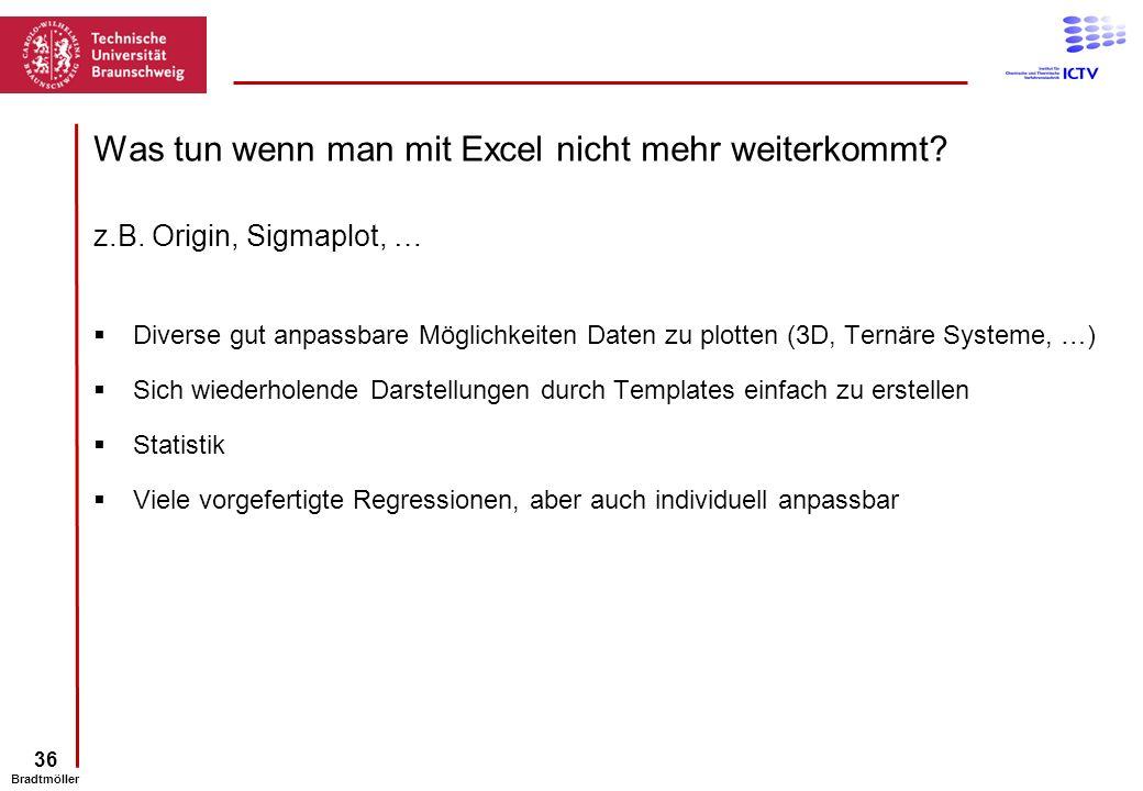 Was tun wenn man mit Excel nicht mehr weiterkommt