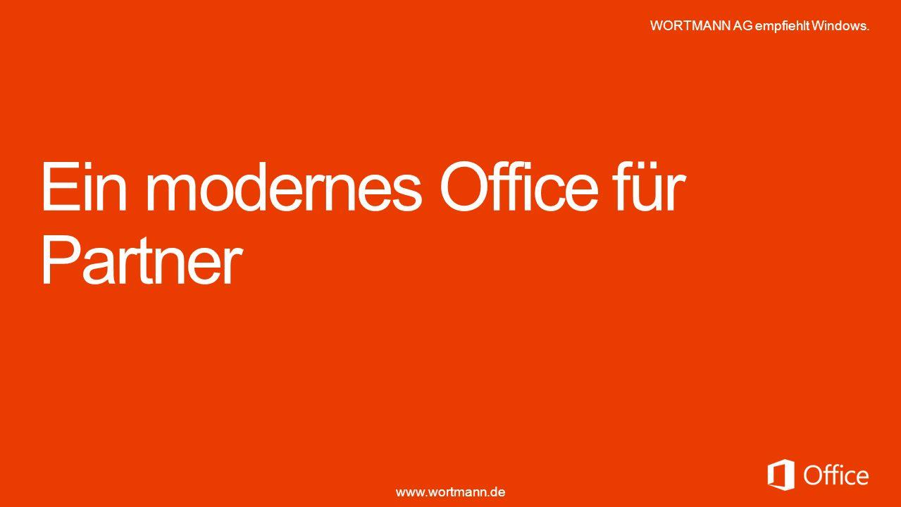 Ein modernes Office für Partner