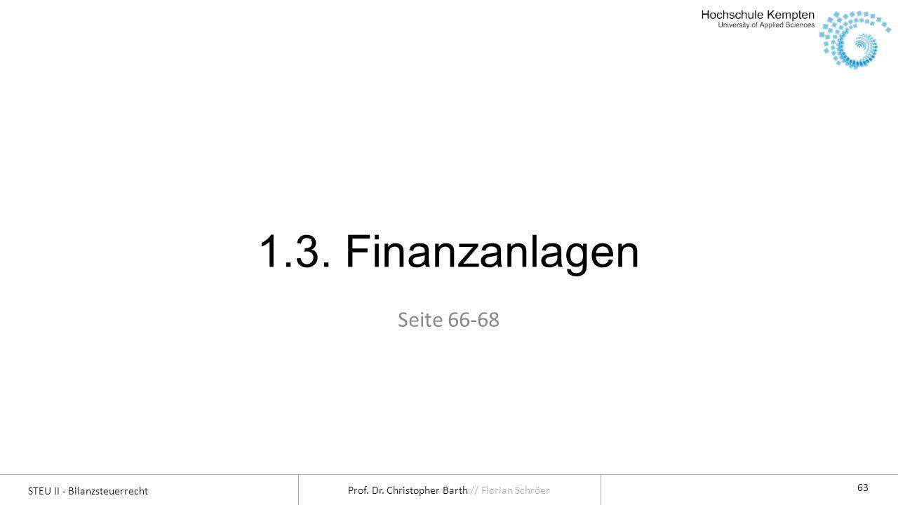 1.3. Finanzanlagen Seite 66-68