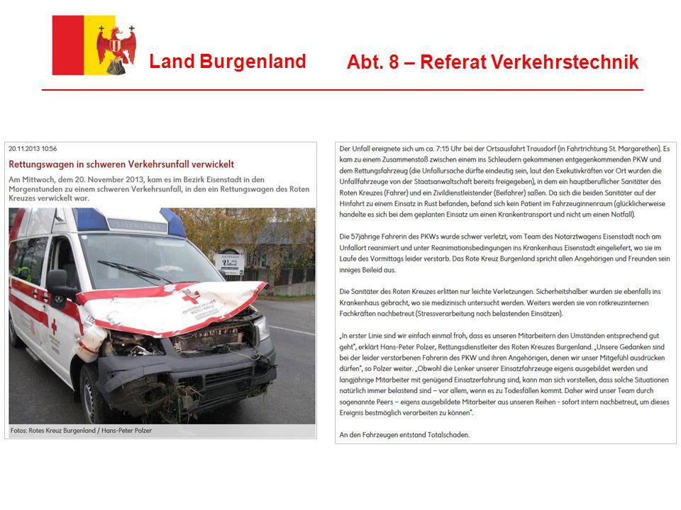 Abt. 8 – Referat Verkehrstechnik