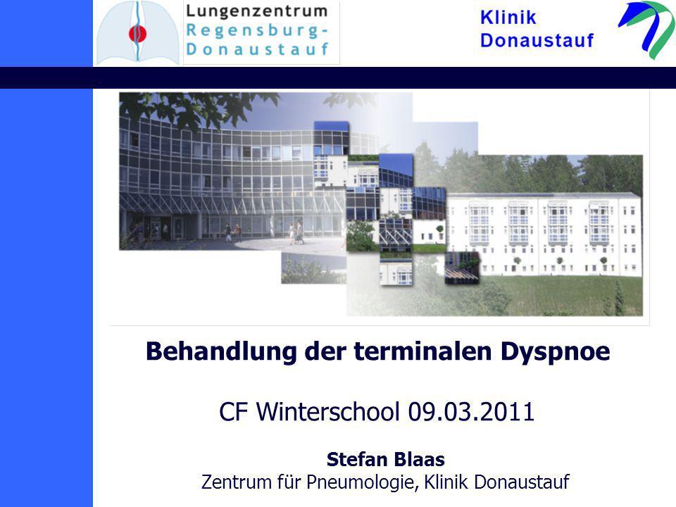 Behandlung der terminalen Dyspnoe CF Winterschool 09.03.2011