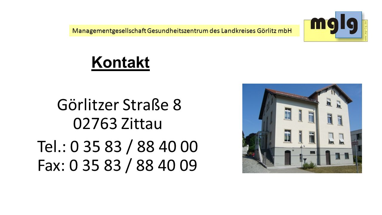 Görlitzer Straße 8 02763 Zittau