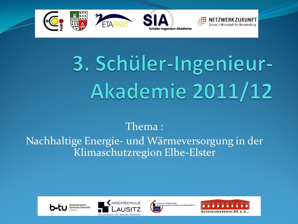 3. Schüler-Ingenieur-Akademie 2011/12