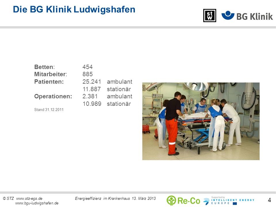 Die BG Klinik Ludwigshafen